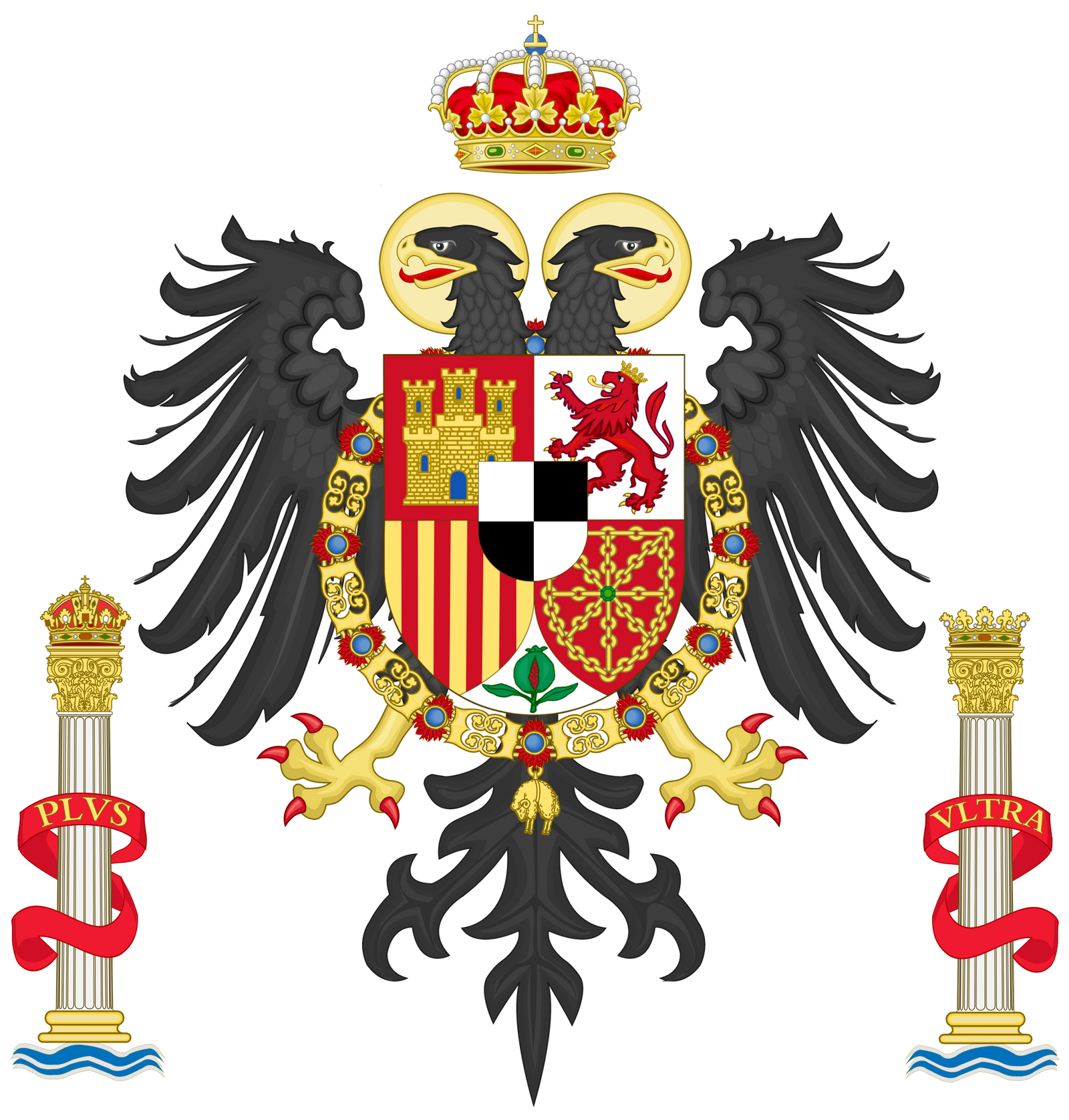 Coat of arms of Hohenzollern Spain by TiltschMaster on ...