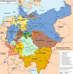 Map of the Greater German Empire
