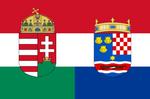 Flag of Hungary-Croatia