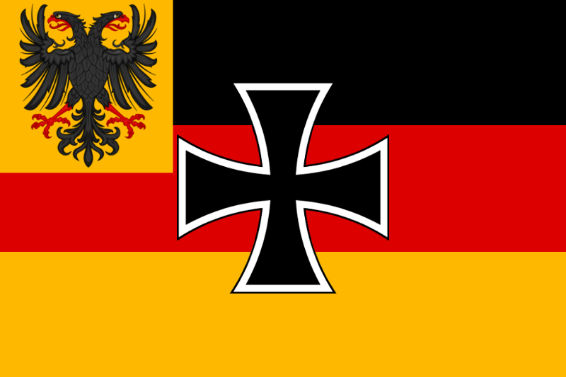Greater German Empire War Flag by TiltschMaster
