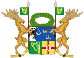 Coat of arms of the Republic of Ireland by TiltschMaster