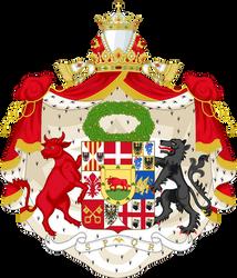 CoA of the Roman Empire (Borgia dynasty) by TiltschMaster