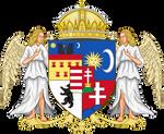CoA Kingdom of Hungary (Napoleonic)