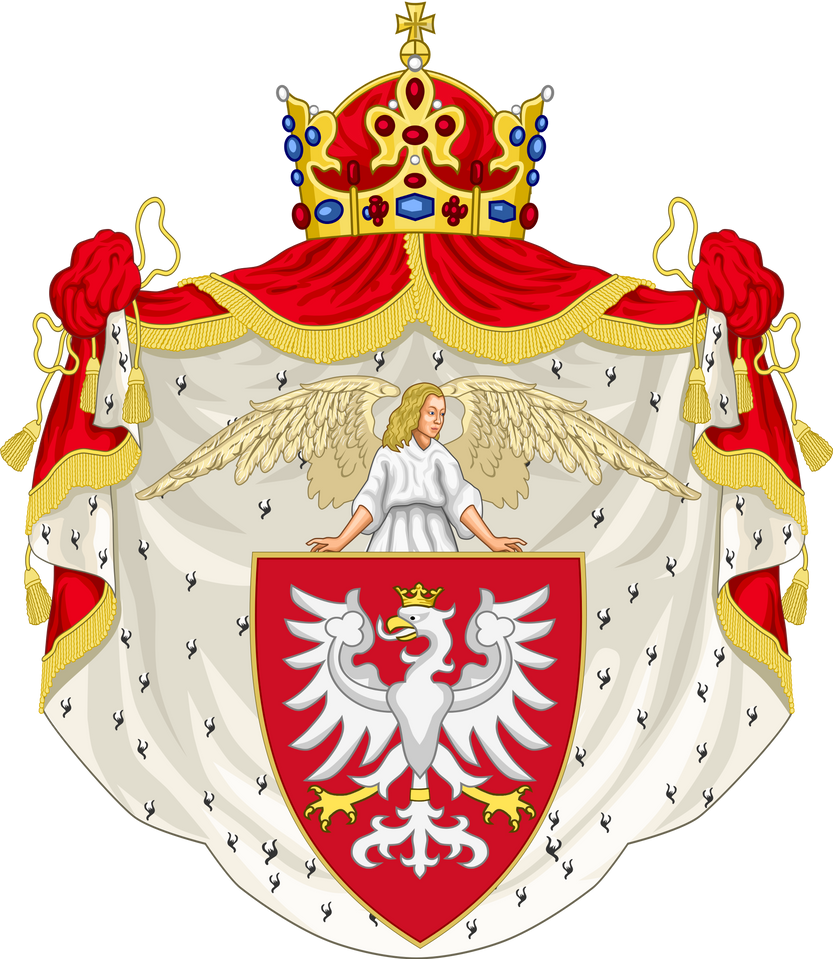 CoA Kingdom of Poland (Rum) by TiltschMaster