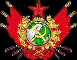 CoA of the Socialist World Republic by TiltschMaster