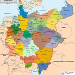 Greater German Socialist Council Republic Map