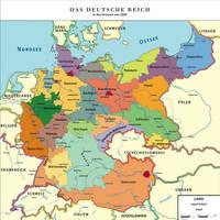 Map Greater German Reich (Kapp-Putsch) by TiltschMaster