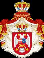 CoA Kingdom of Yugoslavia (Greater Germany) by TiltschMaster