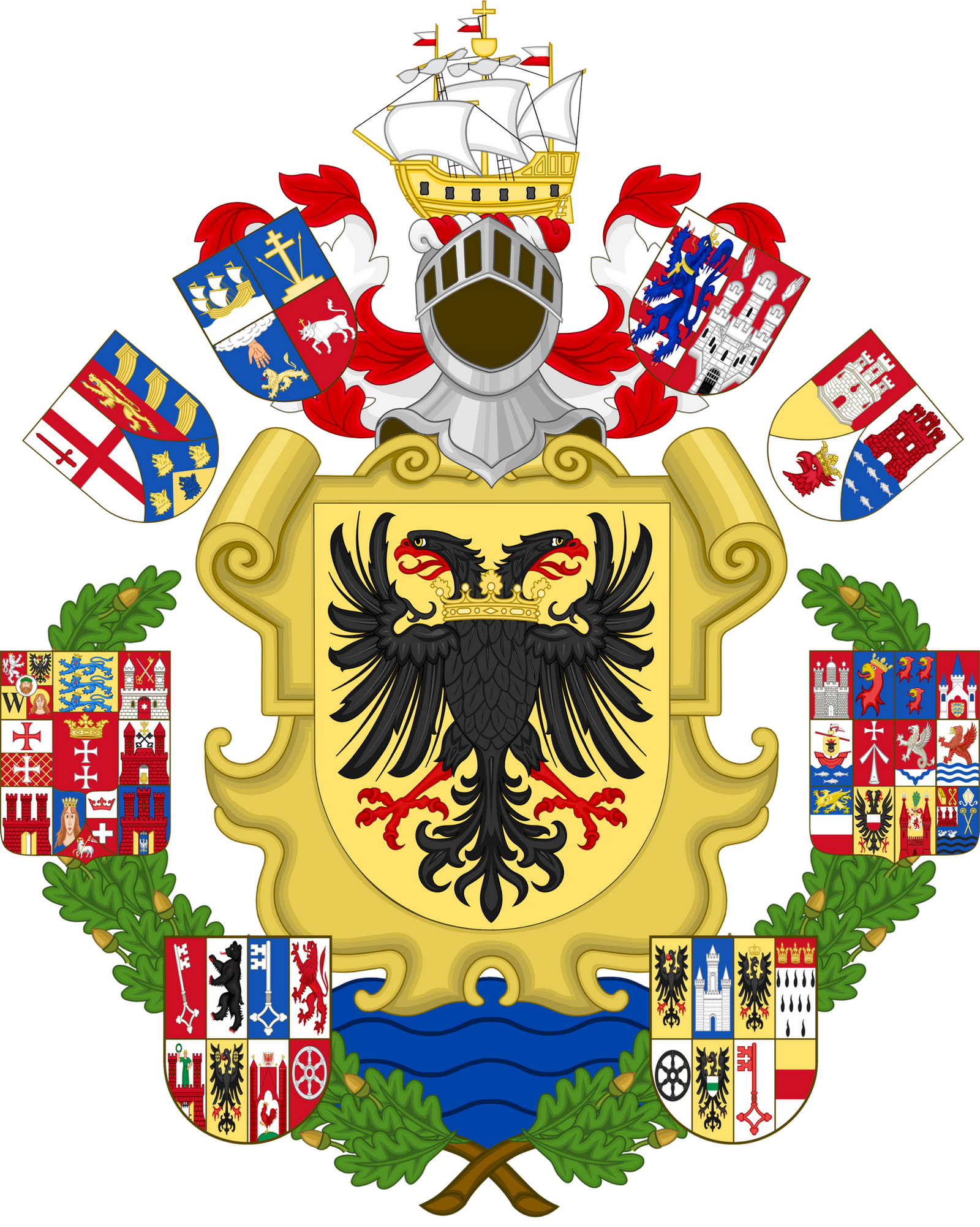 CoA Hanseatic League by TiltschMaster on DeviantArt