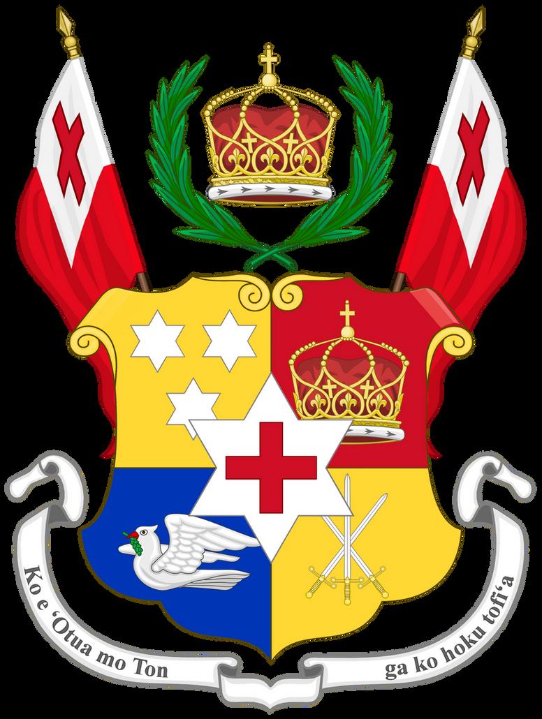 CoA Kingdom Of Tonga By TiltschMaster