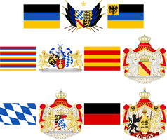 South German Confederation by TiltschMaster