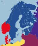 Map Swedish Empire
