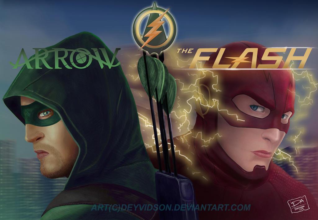 Arrow vs Flash by Deyvidson