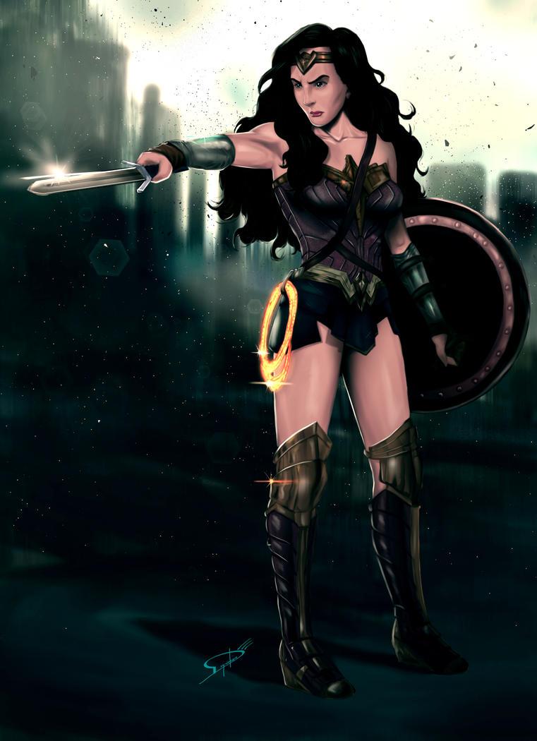 Wonder Woman by Deyvidson