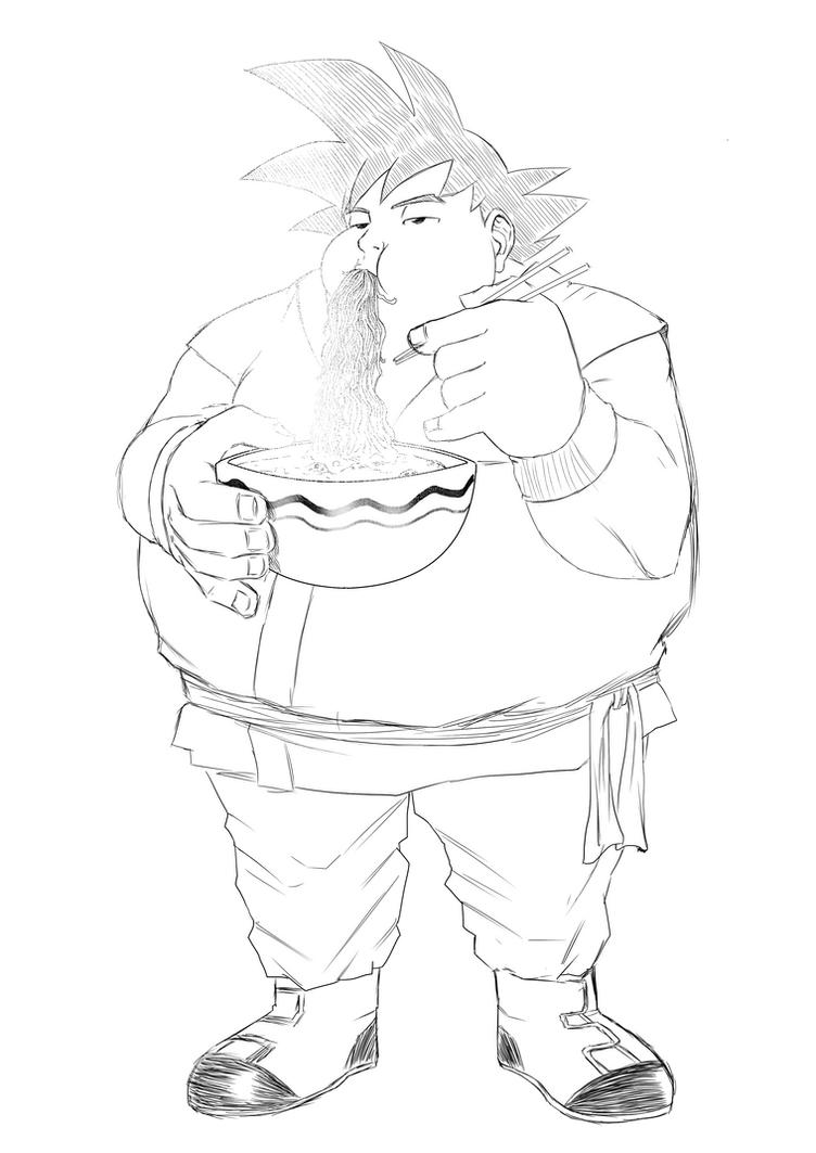 Goku Fat by Deyvidson