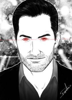 Sketch Lucifer Morningstar