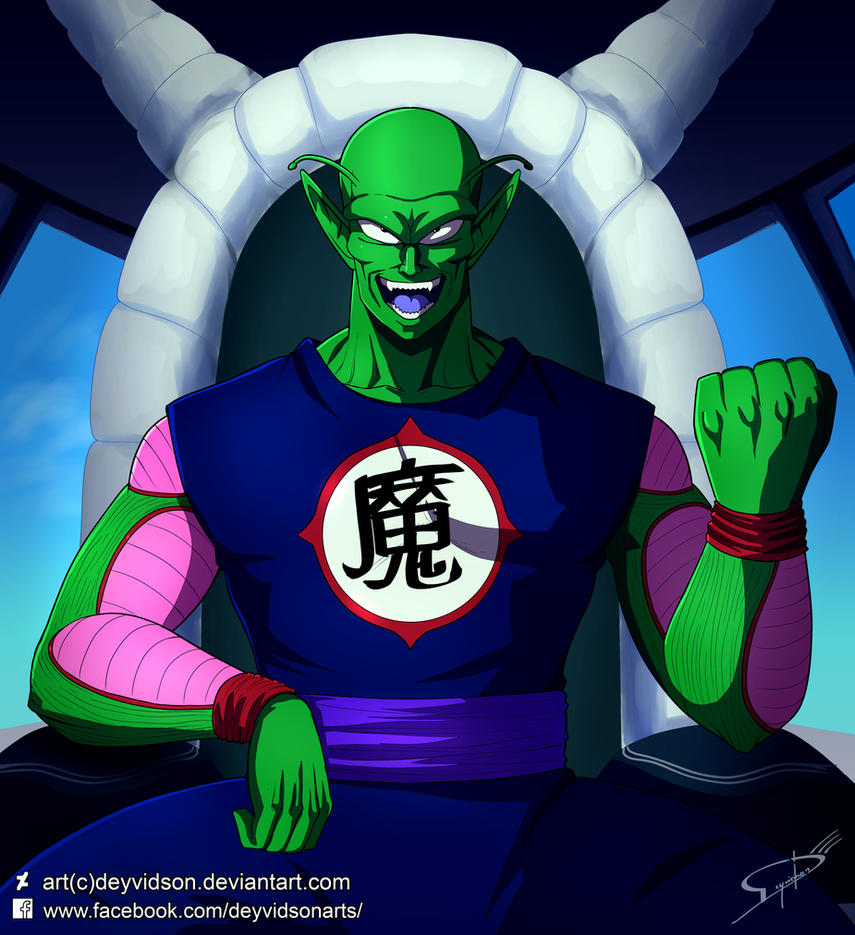 Commission: King Piccolo Daimao (Dragon Ball) by Deyvidson