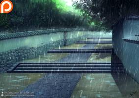 Rain by Deyvidson