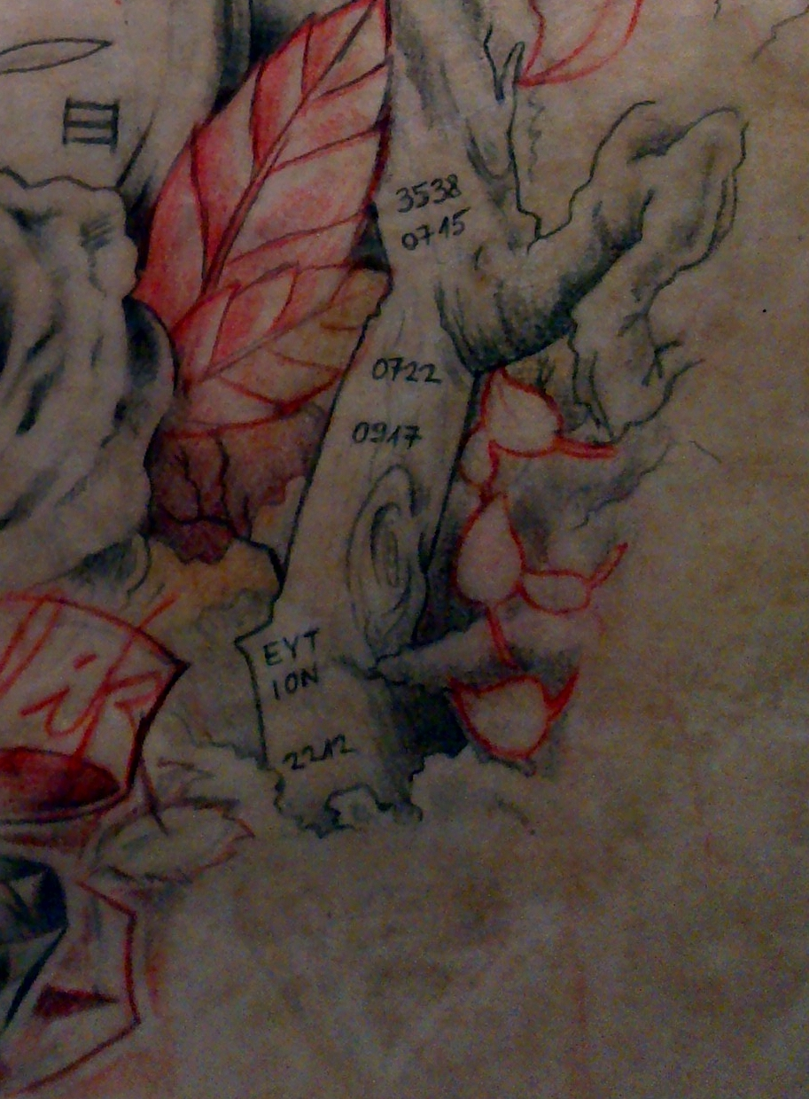 Part of a plan sketch tattoo ii by dave3538 on deviantart for How to plan tattoos