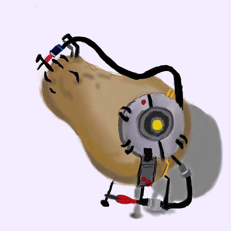 glados portal 2 potato - photo #8