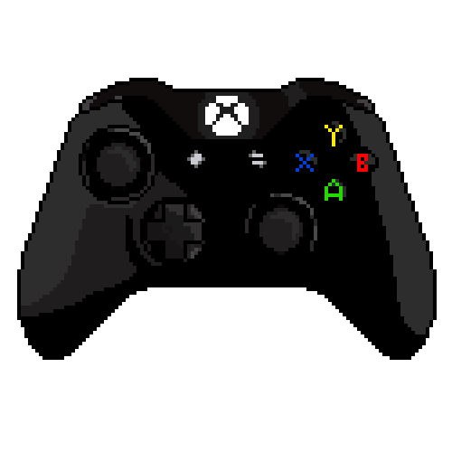 D Line Drawings Xbox One : Pixel art xbox one