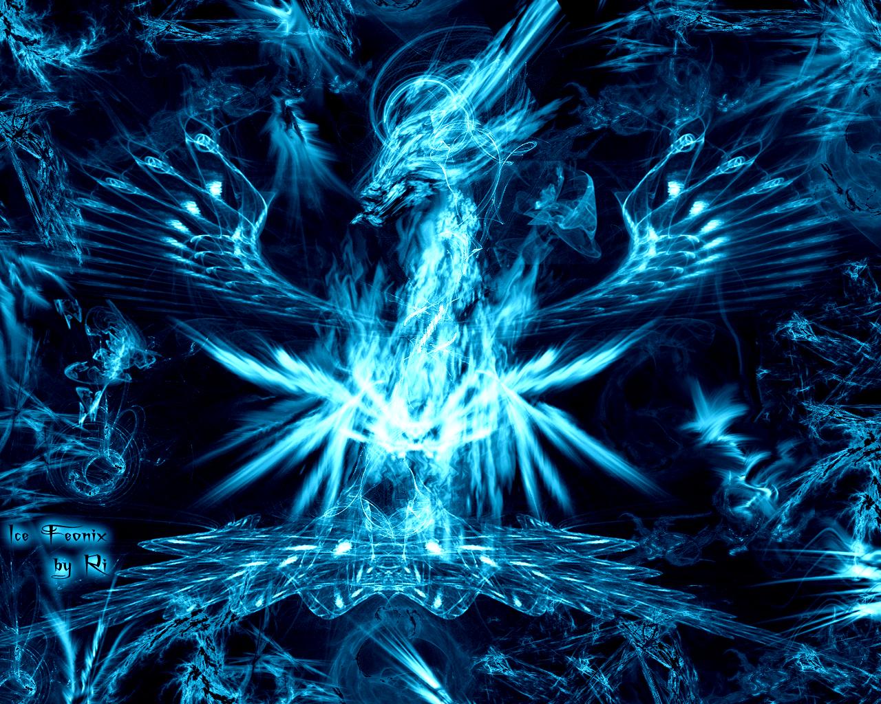 Ice Rose Wallpaper Blue Fire Dibujos Para Colorear
