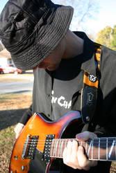 Josh Playing Guitar