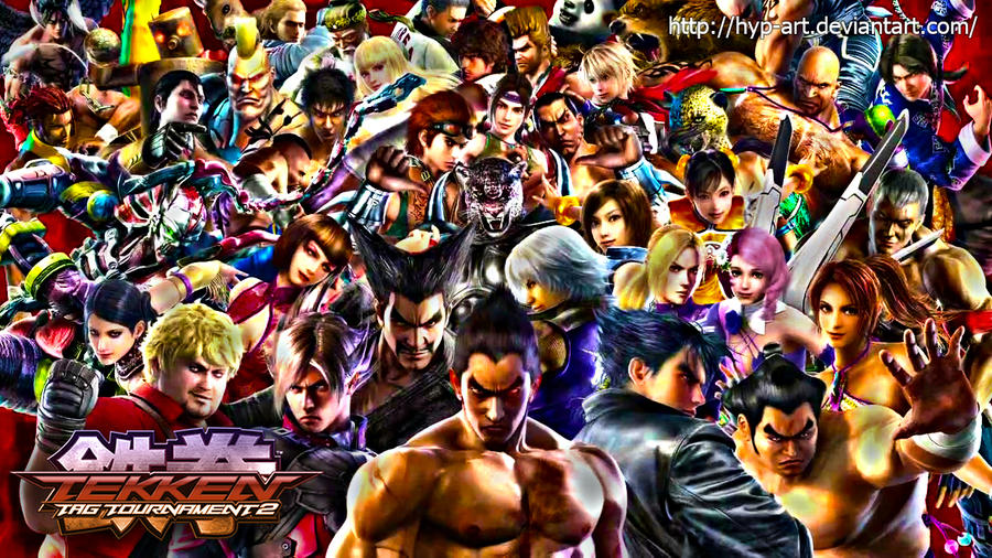 tekken tag tournament 2 wallpaper all characters by hyp