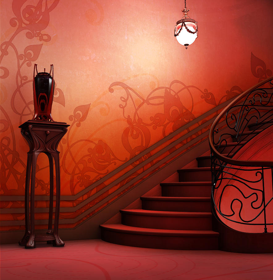 Art nouveau by davijc on deviantart for Interior design challenge art deco