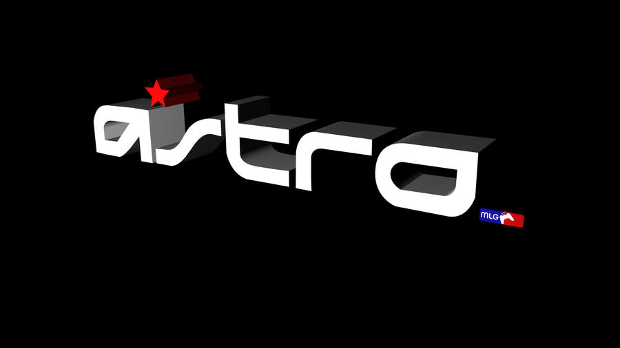 3D Astro Logo MLG By Ryan Caird