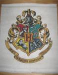 Hogwarts Crest - Cross Stitch
