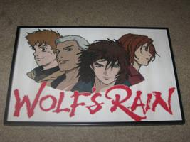 Wolf's Rain Cross-Stitch by Craftigurumi
