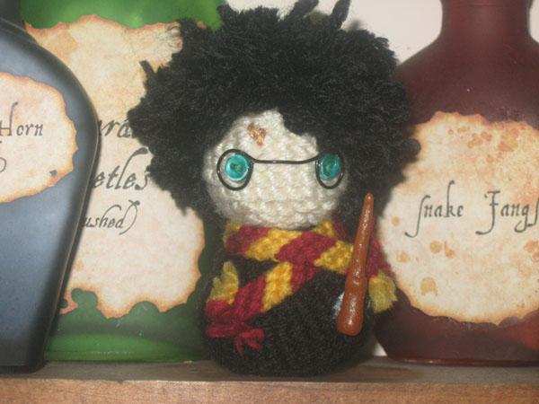 Amigurumi Harry Potter : Harry Potter - Amigurumi by Craftigurumi on DeviantArt