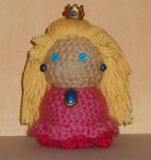 Princess Peach Doll Crochet Pattern Amigurumi (With images ... | 530x500