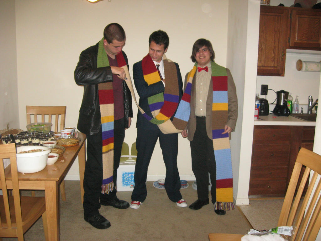 4th Doctor Crochet Scarf - Series 1 by Craftigurumi on DeviantArt