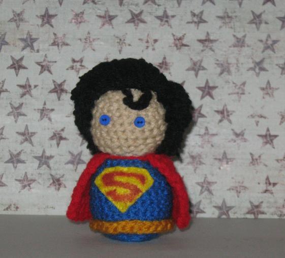 Amigurumi Hawai Doll : Superman Amigurumi Doll by Craftigurumi on DeviantArt