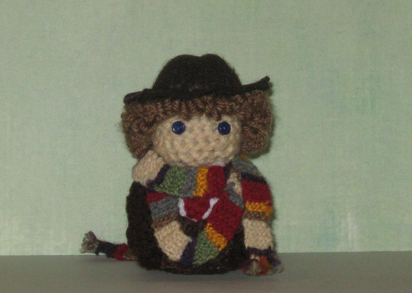 Knitting Patterns Doctor Who Dolls : 4th Doctor Amigurumi Doll by Craftigurumi on DeviantArt