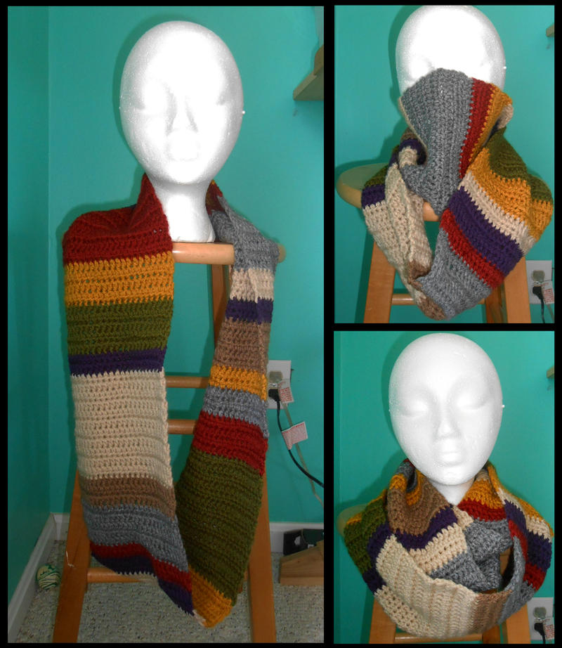 4th Doctor Infinity Scarf
