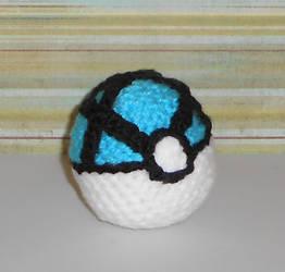 Net Ball Hackesac by Craftigurumi