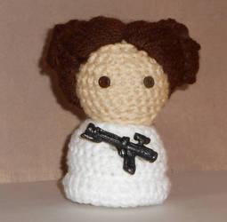 Leia Organa Amigurumi Doll by Craftigurumi