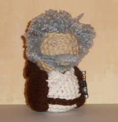Old Ben Kenobi Amigurumi Doll by Craftigurumi