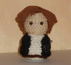 Han Solo Amigurmi Doll by Craftigurumi