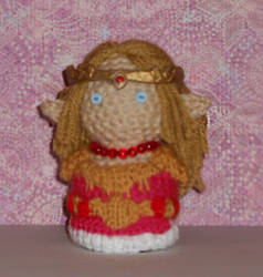 Zelda (LttP) Amigurmi Doll by Craftigurumi