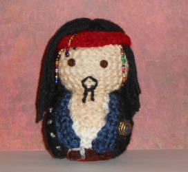 Jack Sparrow Amigurumi Doll by Craftigurumi