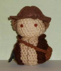 Indiana Jones Amigurumi Doll by Craftigurumi