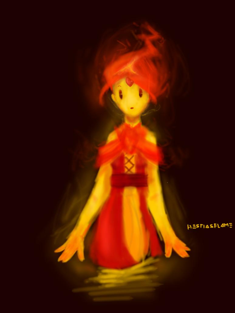 Flame Princess by HestiasFlame