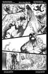 Hulk vs Swamp Thing pg7 Grey Wash ink test by Misf by Bob-Misfit-Modelski
