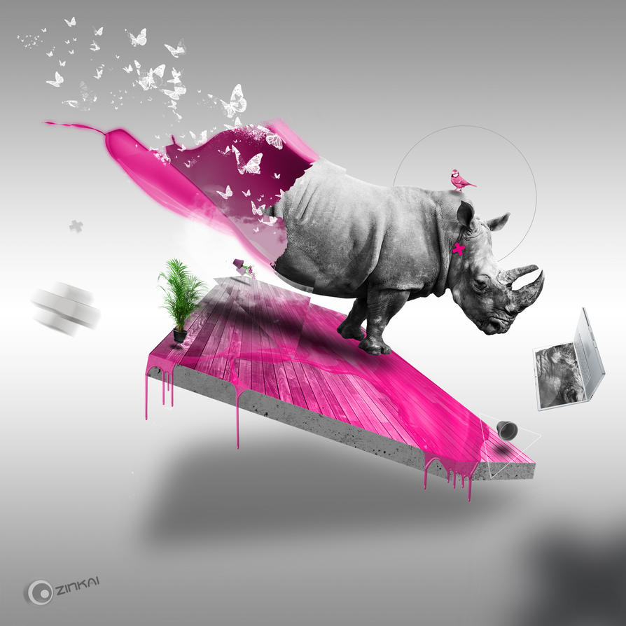 Rhino serie by zinkai
