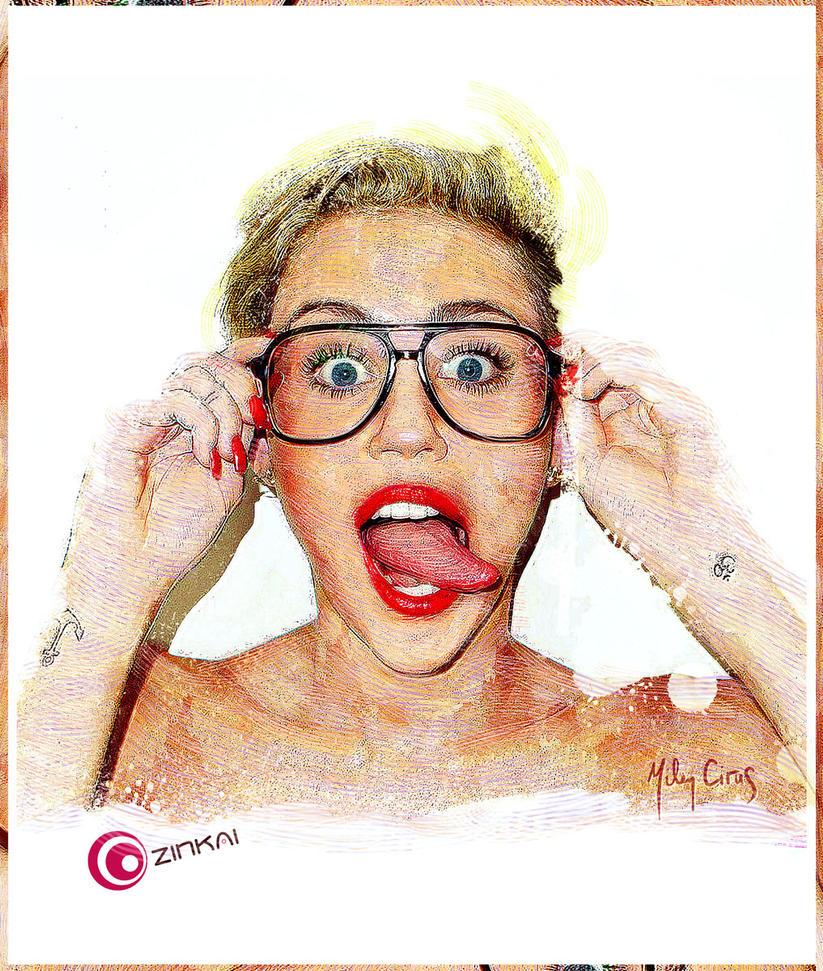 Miley C. by zinkai