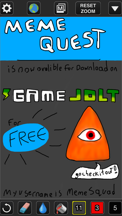 Meme Quest Advertisement by penguineiy on DeviantArt